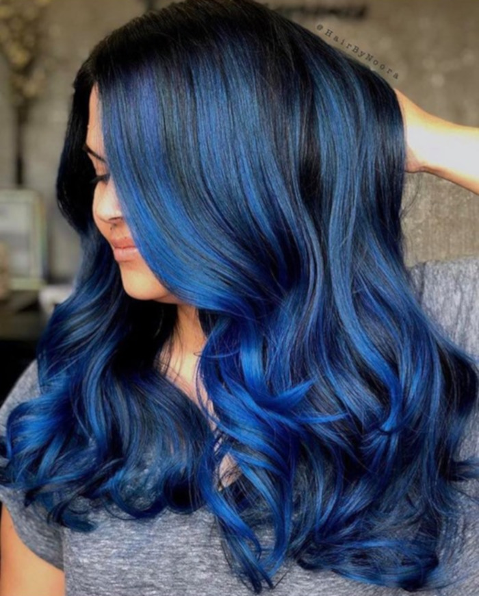 pantone 2020 color of the year classic blue hair colors
