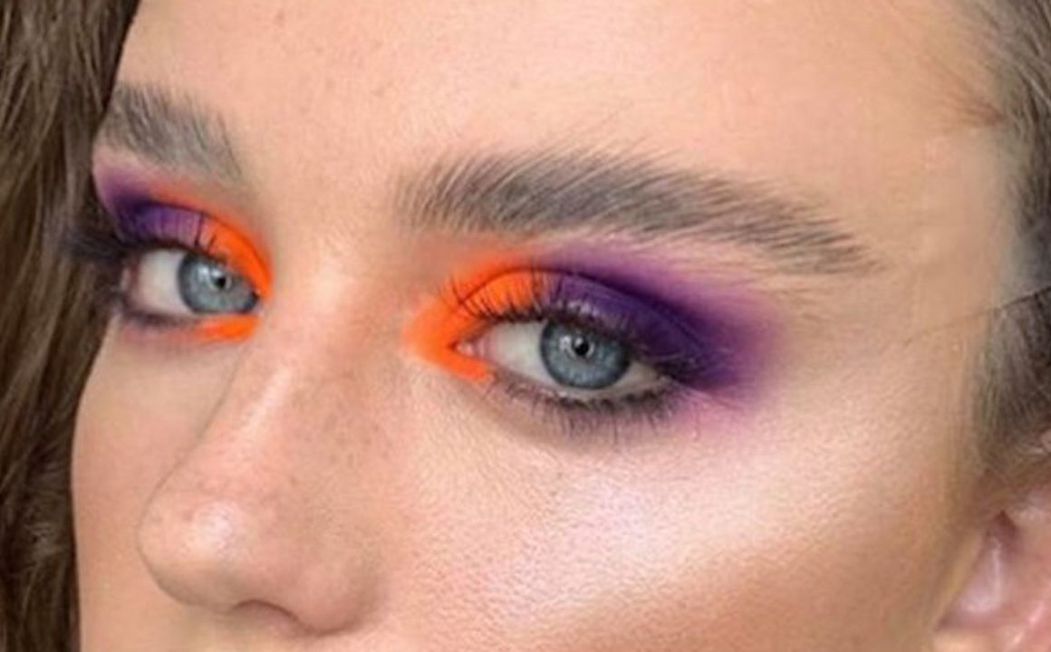 Contrasting Makeup Looks