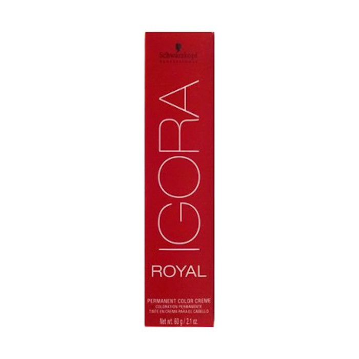 the best dyes for copper hair - igora royal e-1 cendre extract schwarzkopf