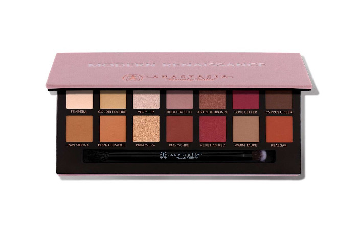 valentines day romantic eyeshadow palettes - anastasia beverly hills modern renaissance eyeshadow palette