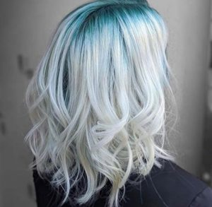 drenched hair color grunge hair color trend