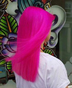 neon hair
