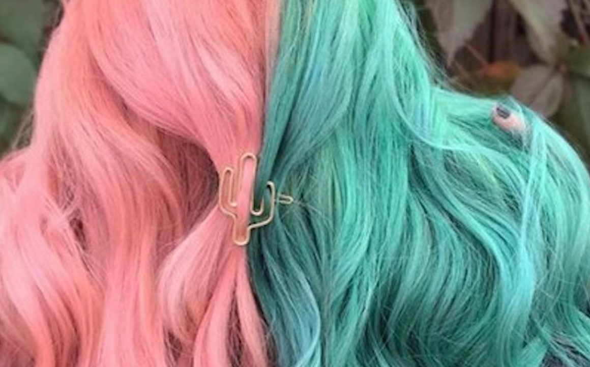 Half And Half Hair Color Trend