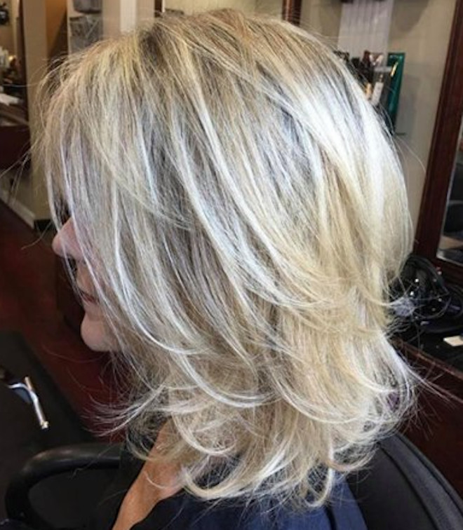 Stylish Mid Length Layered Haircuts For Women Fashionisers C Part 2