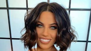 Middle-Part Hairstyles