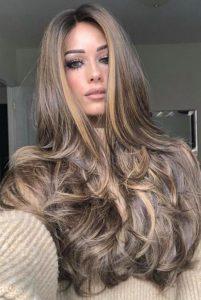 smoky gold hair color