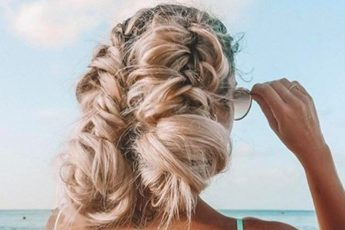 Beach Hairstyles Beach Updo Ideas