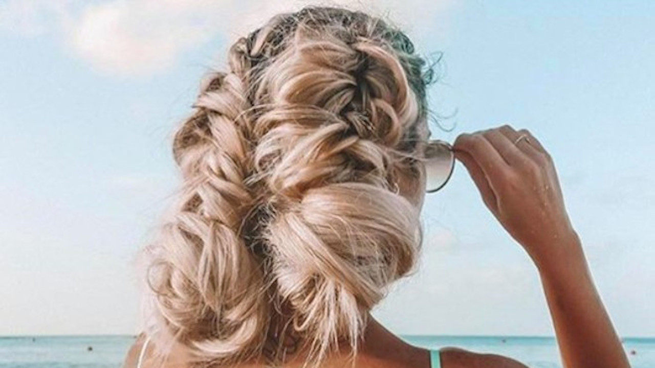 Sexy Hairstyles For The Beach Fashionisers C