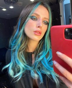 bold hair colors to steal from celebrities