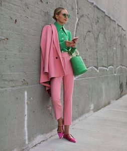 color block outfits