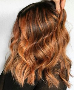 copper hair color ideas for summer
