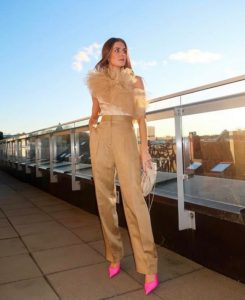 how to wear flare pants
