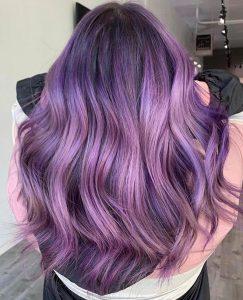 mauve hair