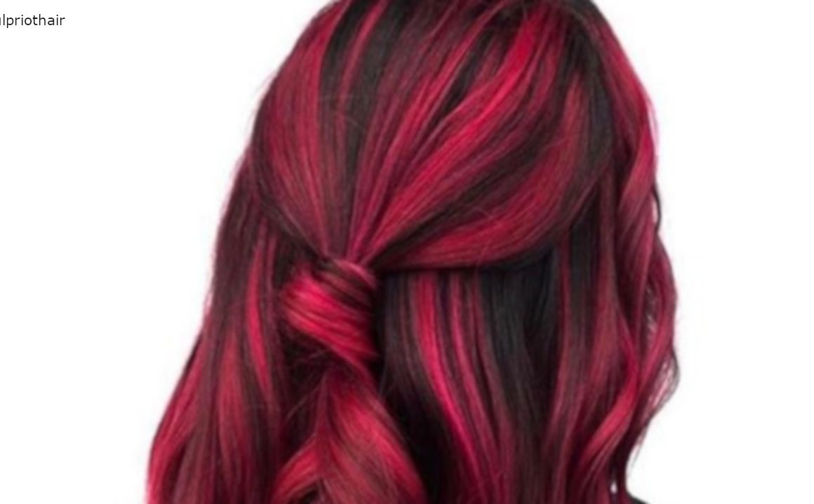 Red And Black Hair Color Combinations To Spice Up Your Look Fashionisers C