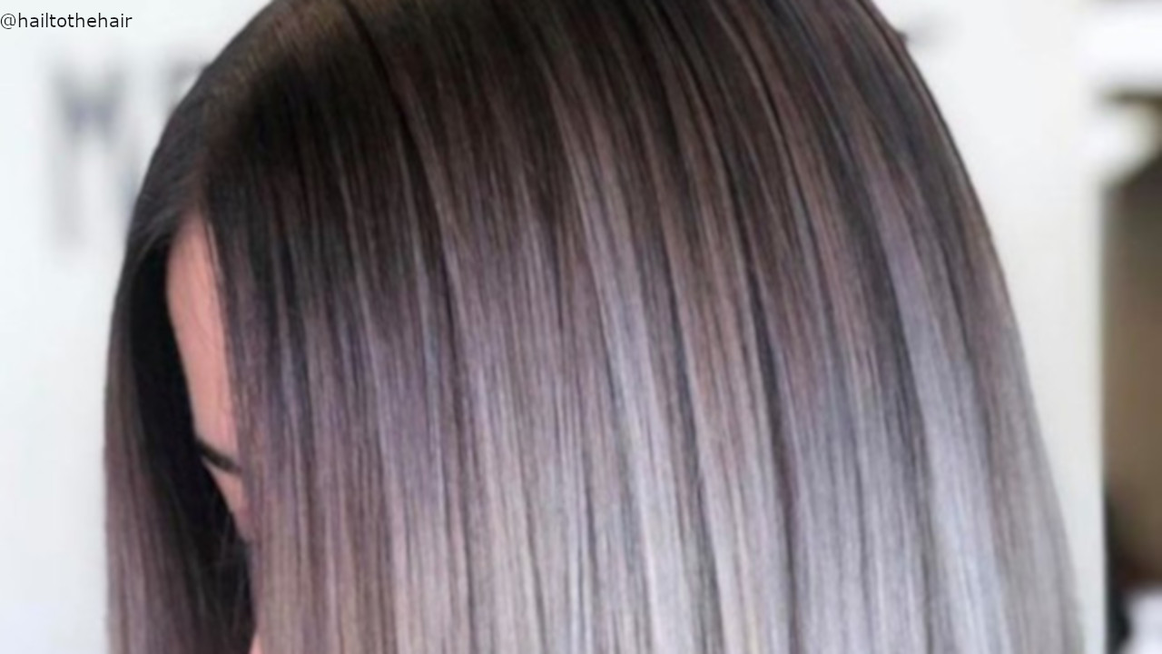 Mesmerizing Silver And Black Hair Color Ideas To Bolden Up Your Look Fashionisers C