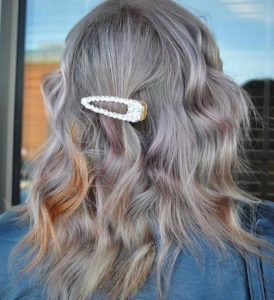 how to give silver hair a summer makeover