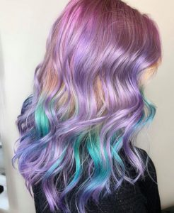 lavender hair colors for summer