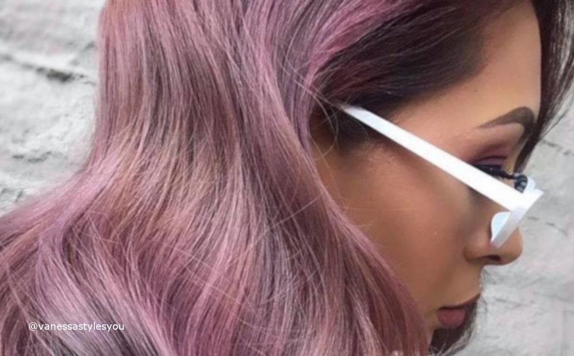 Mauve Hair Colors For Summer
