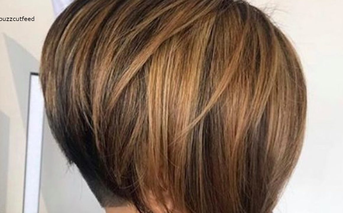 Undercut Bob Haircuts For Summer