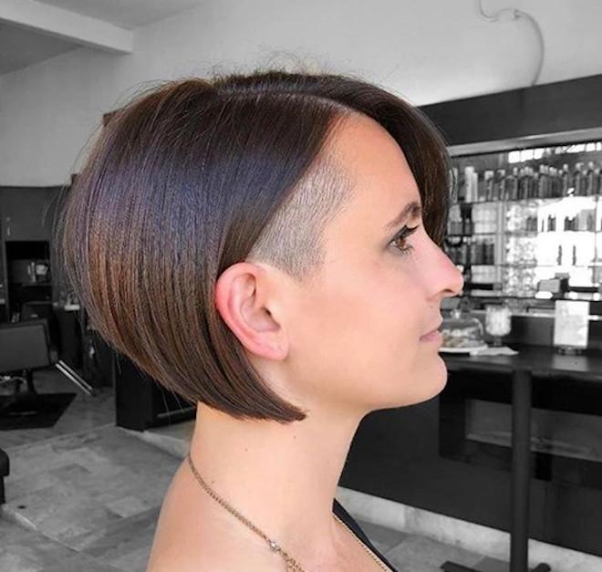undercut bob haircuts for summer