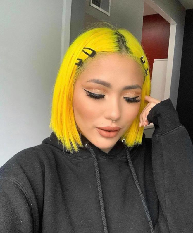 neon hair colors for summer