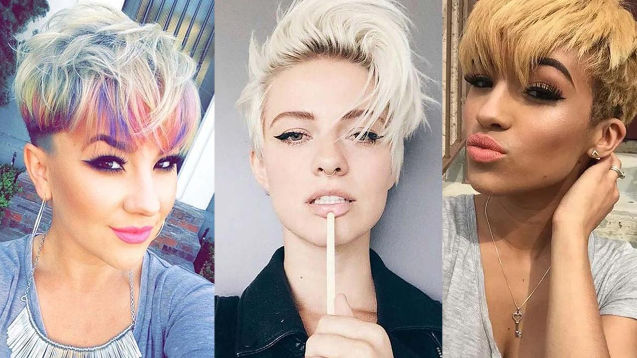 100 Short Hairstyles For Women Pixie Bob Undercut Hair Fashionisers C