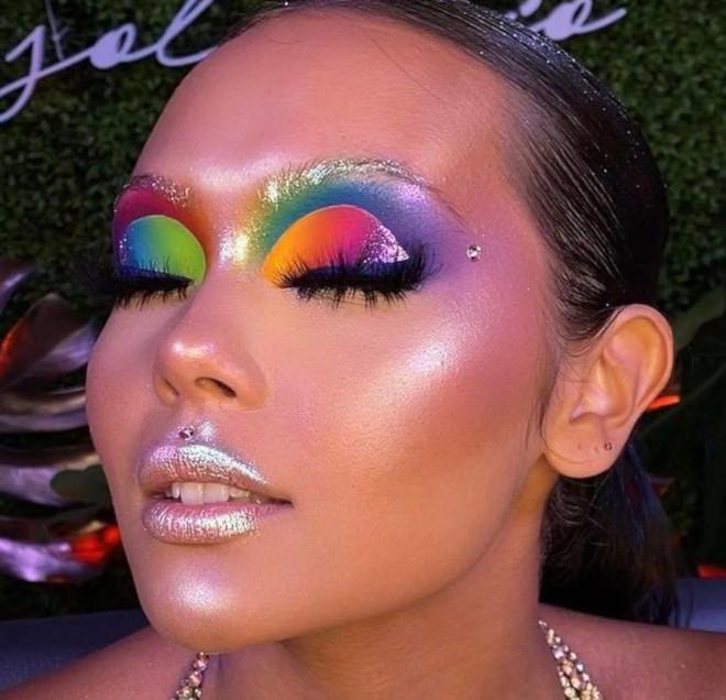 stunning rainbow makeup looks in honor of pride month