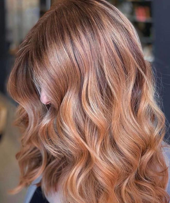 gingerbread caramel hair