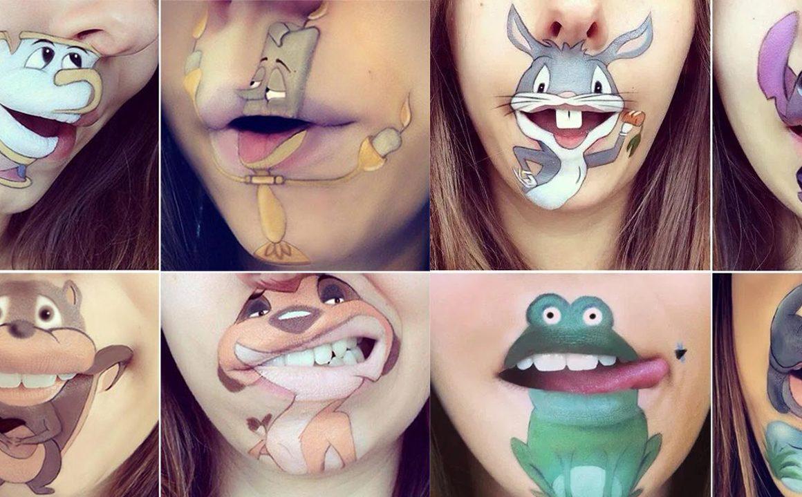 laura-jenkinson-cartoon-lip-makeup-main-image-fashionisers