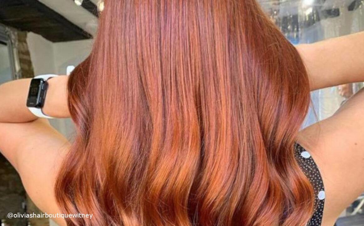 Apple Cider Hair Color Trend