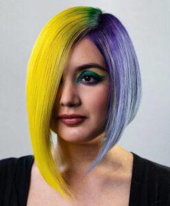 asymmetrical bob hairstyles