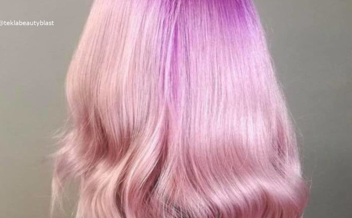 Colored Roots Hair Color Trend
