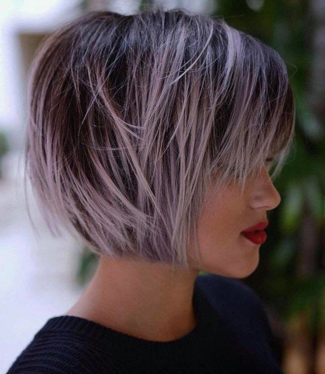 the most flattering short haircuts for thin hair