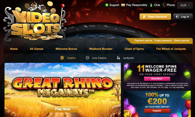 video-slots-home-page