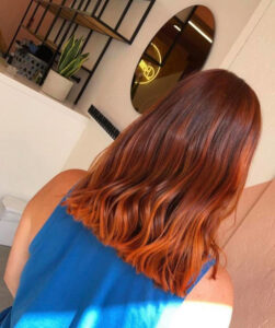 copper hair color is the comeback fall trend that refuses to retire