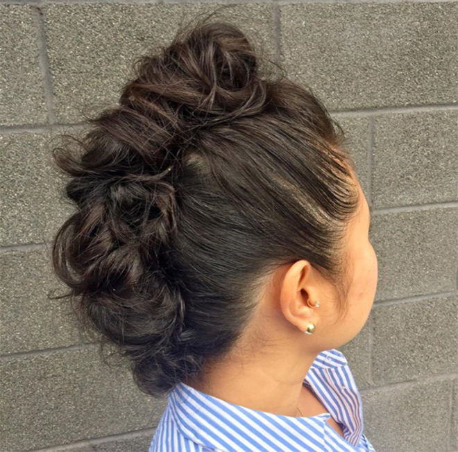 dianawiththebesthair-faux-hawk-updo