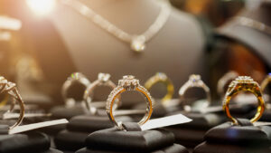 how-to-dress-down-diamonds-diamond-rings-and-necklace-in-shop