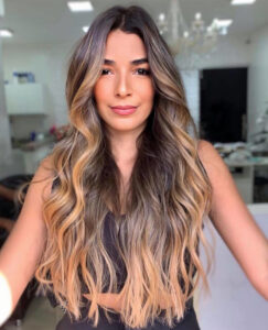 smoky gold hair is the biggest comeback trend for fall
