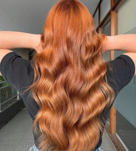 the prettiest apple cider hair colors to brighten up your fall days