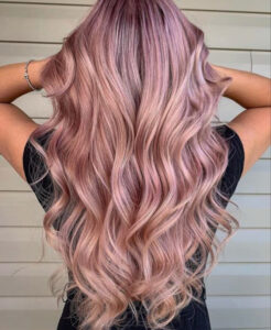 which fall hair color to try based on your zodiac sign - aquarius rose gold hair