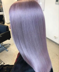which fall hair color to try based on your zodiac sign - aries periwinkle hair