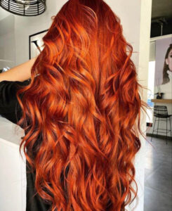 which fall hair color to try based on your zodiac sign - leo copper hair