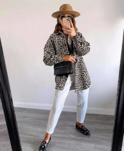 animal print outfits for fall