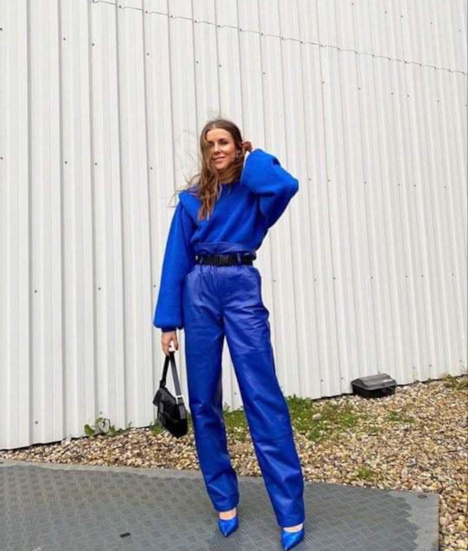 how to wear classic blue - pantone's color of the year 2020