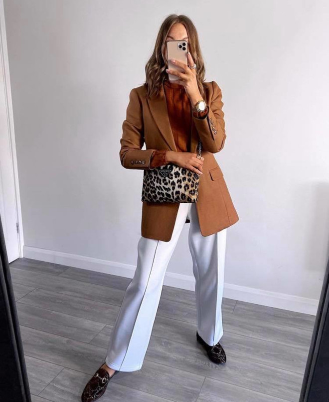 how to wear white outfits in fall