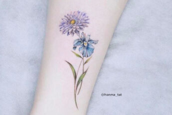 Mesmerizing Flower Tattoos For Women
