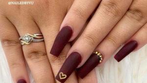 Minimalist Nail Designs For Fall
