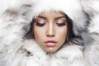 should-you-wear-different-perfume-in-winter-woman-in-fluffy-winter-outerwear