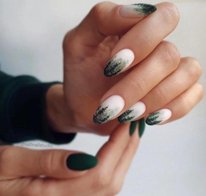 ditch the predictable manicures for these statement winter nail designs