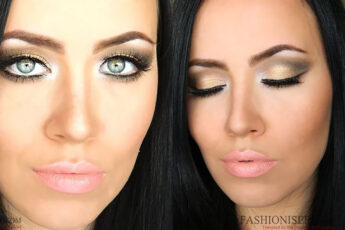 earthy-makeup-look-gold-and-brown-tones